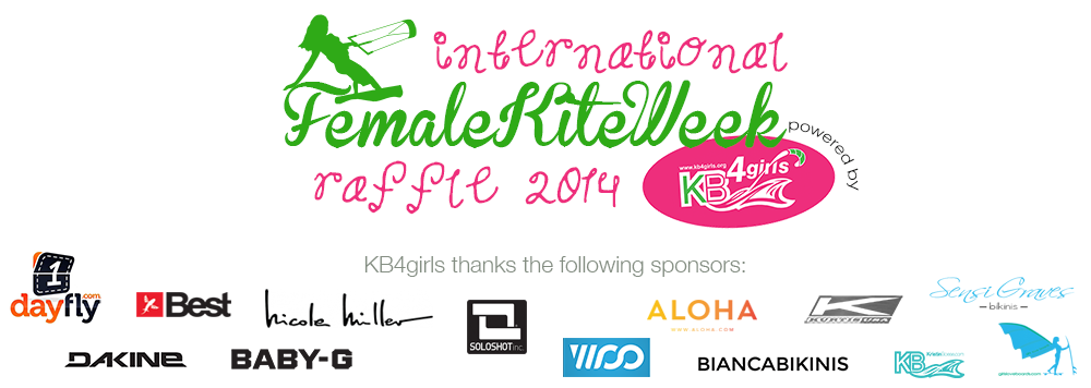 KB4Girls raffle for International Female Kite Week