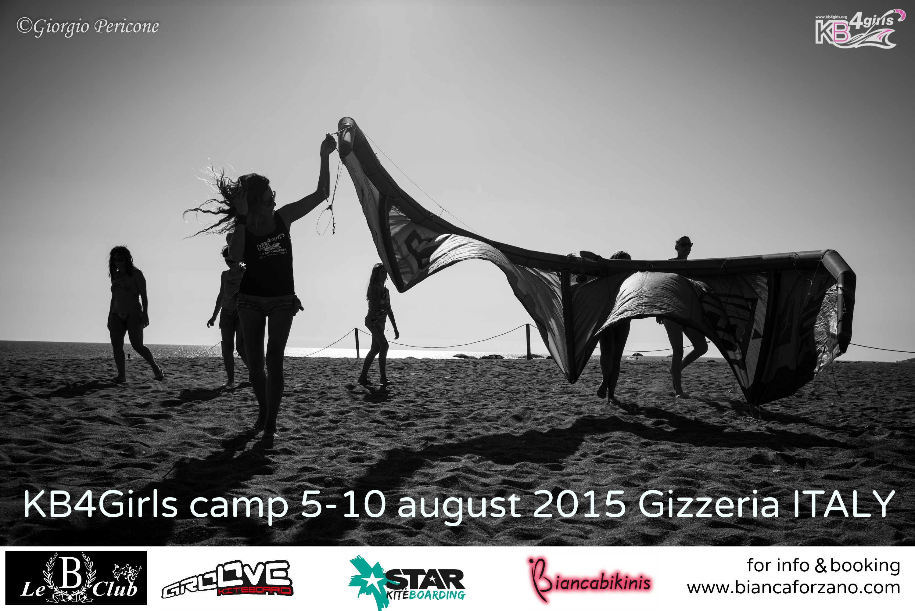 KB4Girls – Kitesurf retreat in Calabria Italy 5-10 August