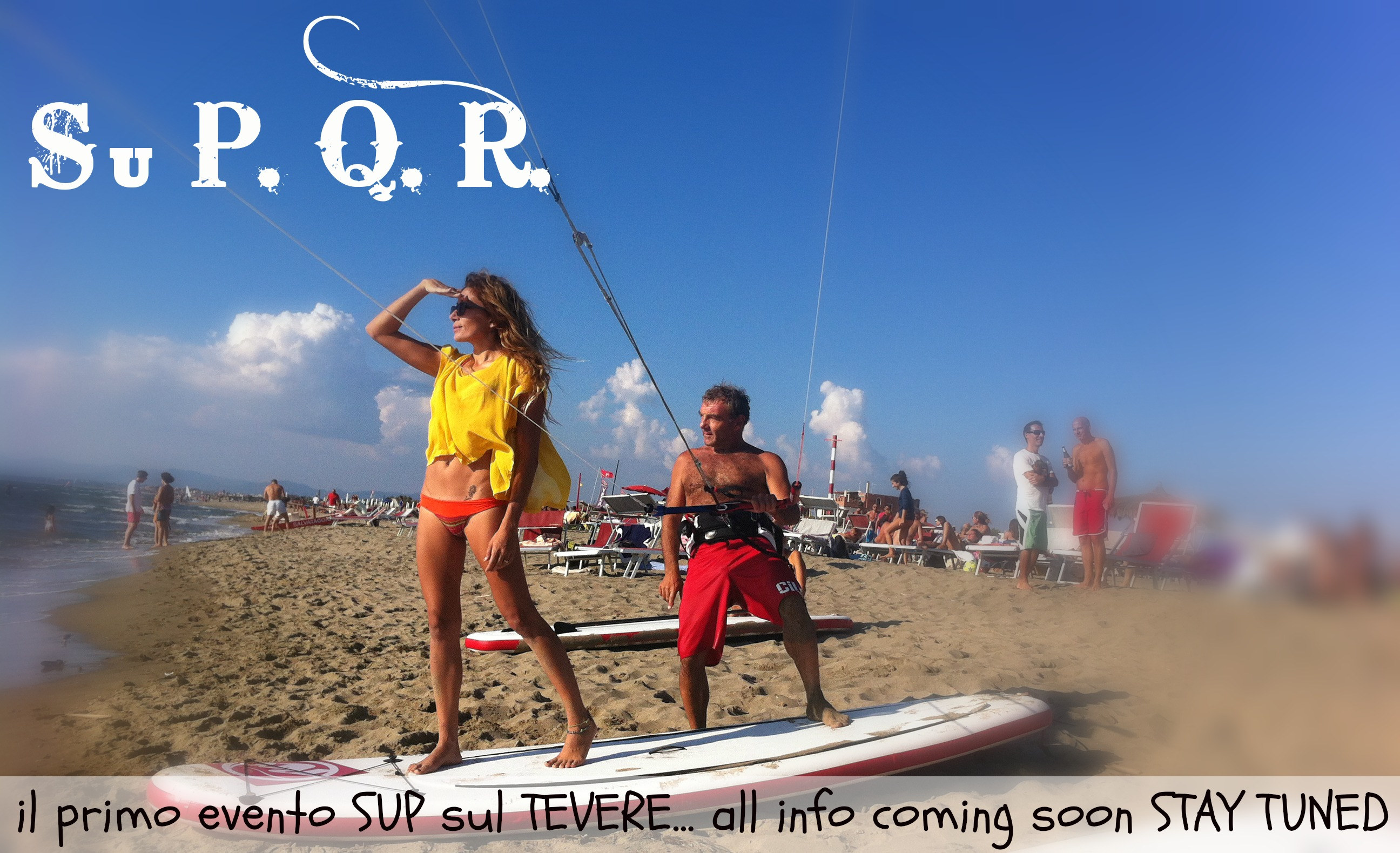SuP.Q.R. first SUP event in Rome