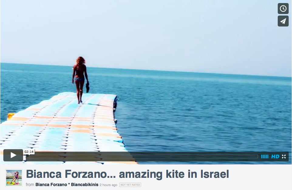 Amazing kite in Israel
