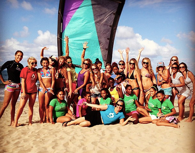 Female kite week Cabarete