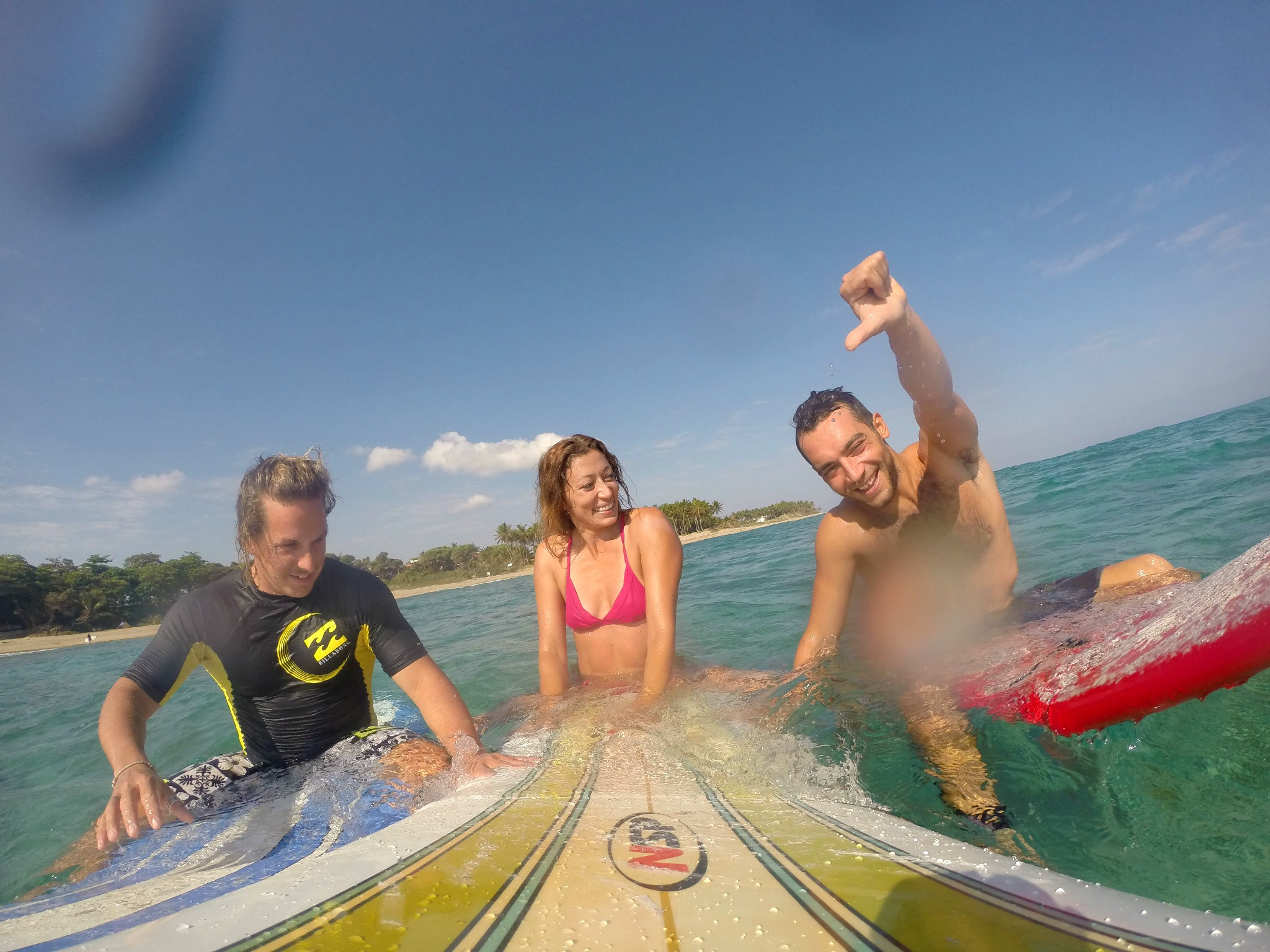 Longboard, friends and a GoPro in Cabarete!